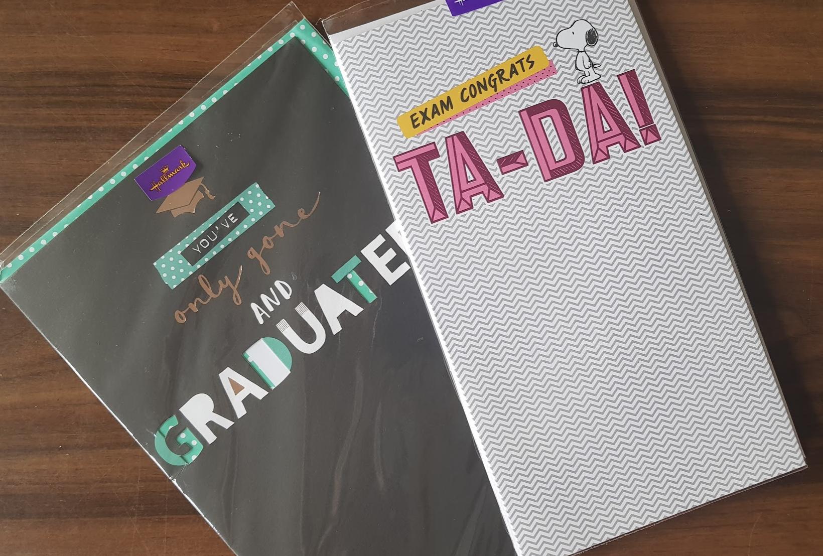 graduation cards by Hallmark