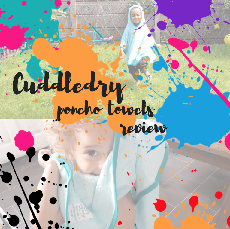 cuddledry poncho towel review uv protection SPF50+