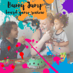 bunny jump board game review for kids by university games