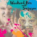 Weekend Box with Snazaroo face paints for children