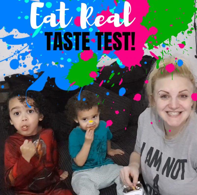 Eat real taste test healthy snacks
