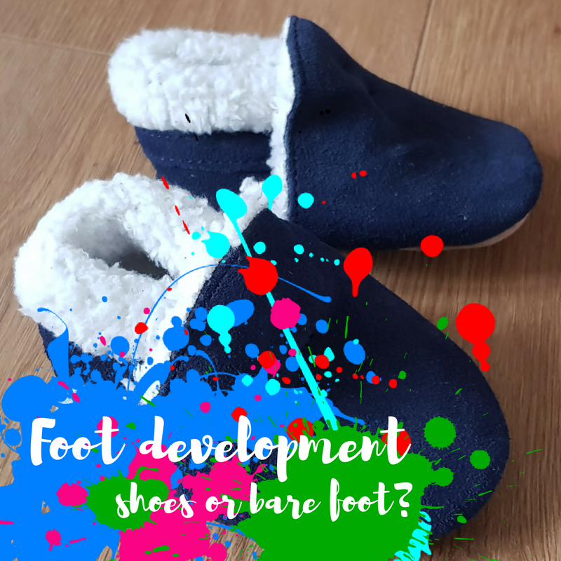 Baby foot development