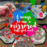6 ways to use a mirrored tuff spot tray mat raw childhood early years resources eyr