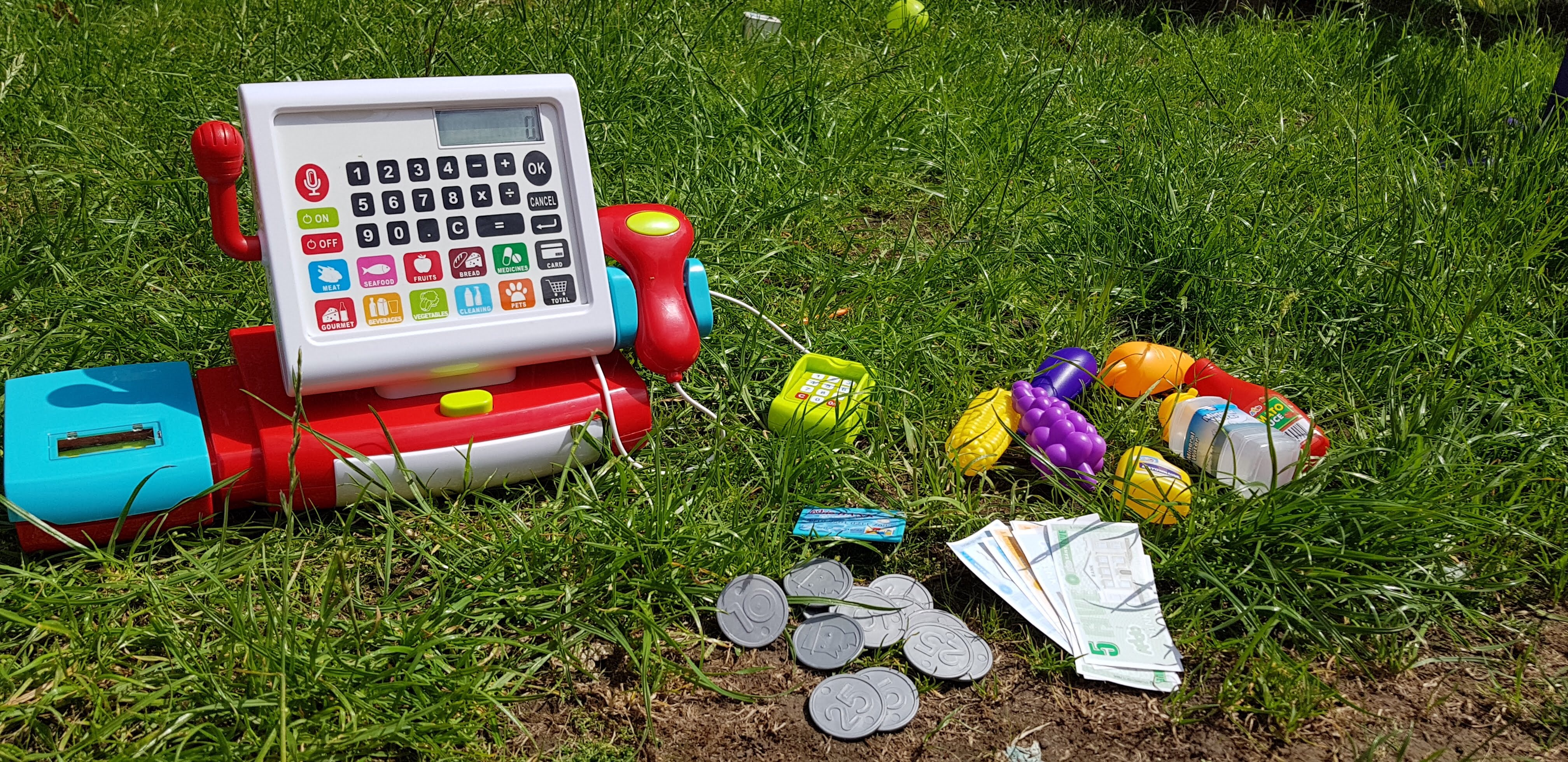 Cash register child development benefits raw childhood review Addo play busy me