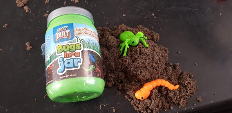 Play Dirt monster Trucks bugs in a Jar bag o dirt review raw childhood