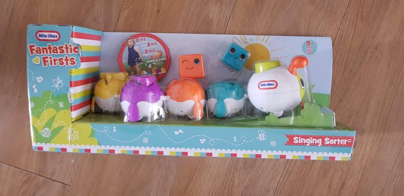 Little tikes fantastic Firsts sleepy stacker and singing sorter raw childhood review