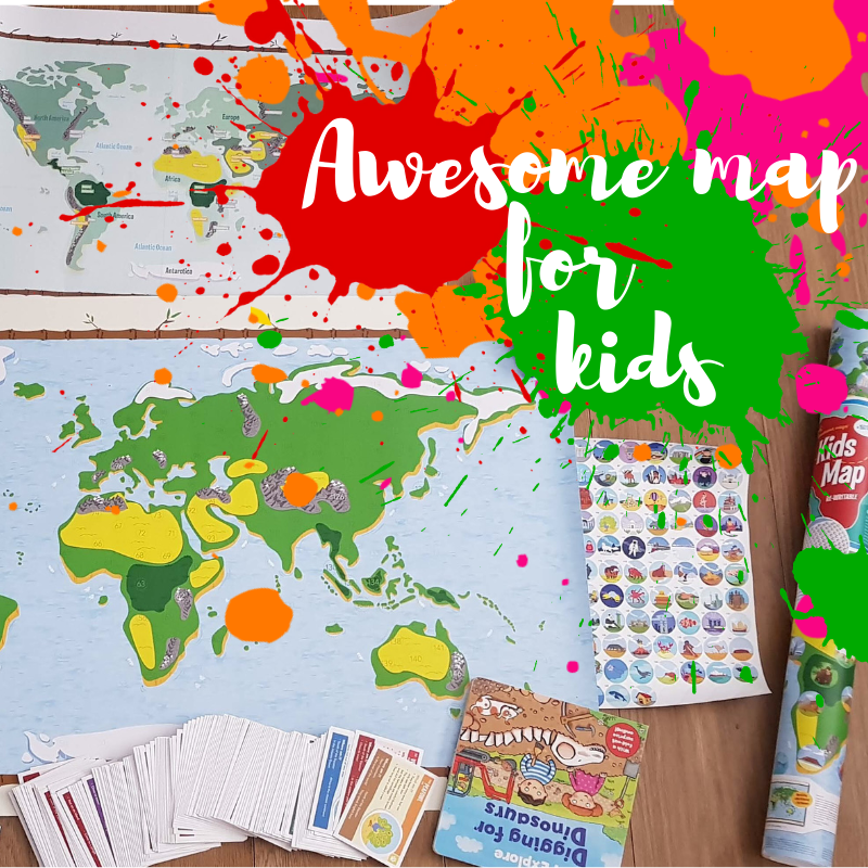 Awesome maps children's map review raw childhood