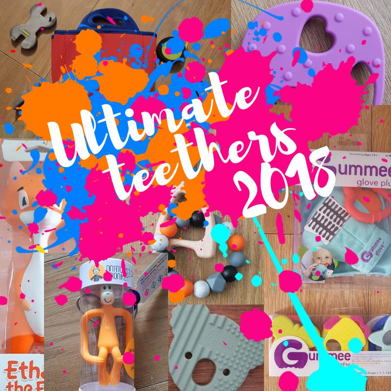 Blog post ultimate teethers roundup 2018 baby teethers