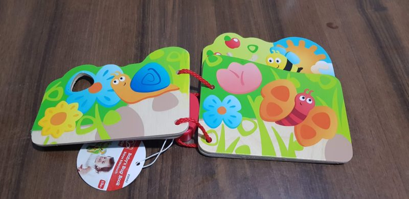 Amazon Wooden bug book amazon gifts for 1 year old gift guide raw childhood 2018