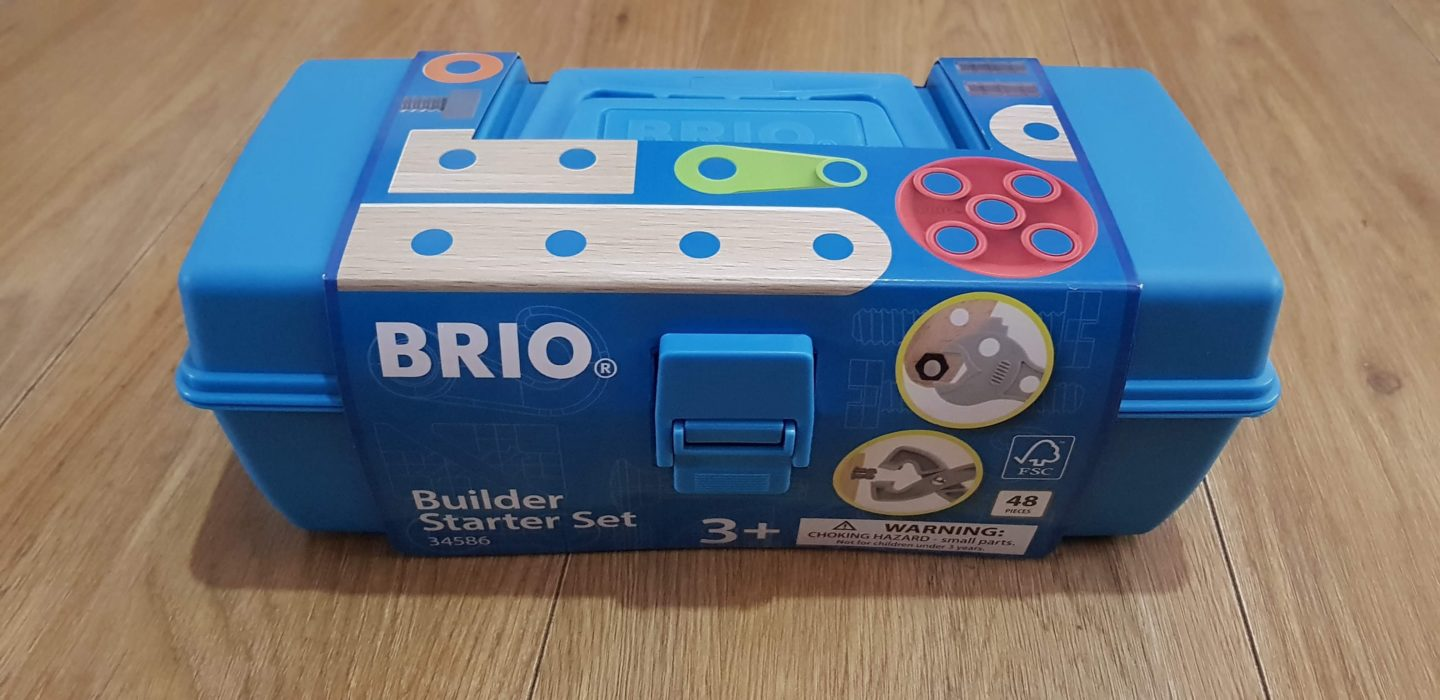 Learning by building Brio builder starter set raw childhood