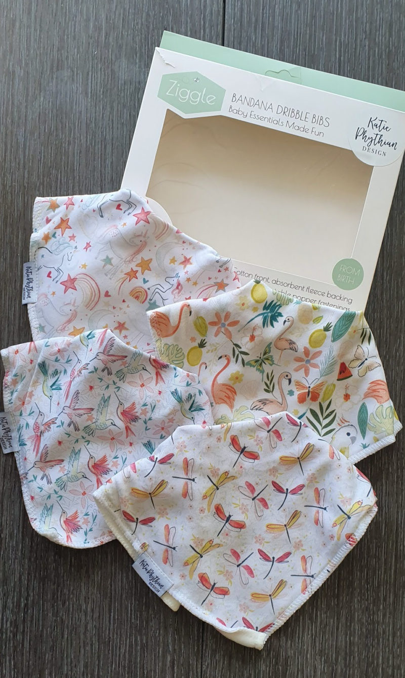 Mum and baby girl must haves raw childhood Dribble bibs ziggle uk