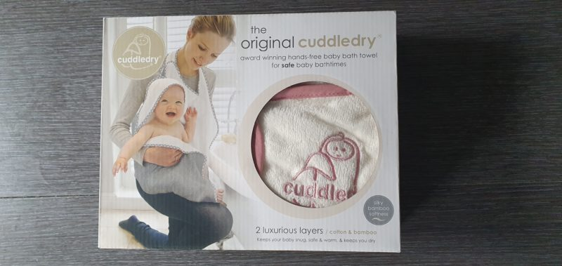 Mum and baby girl must haves raw childhood Cuddledry baby towel
