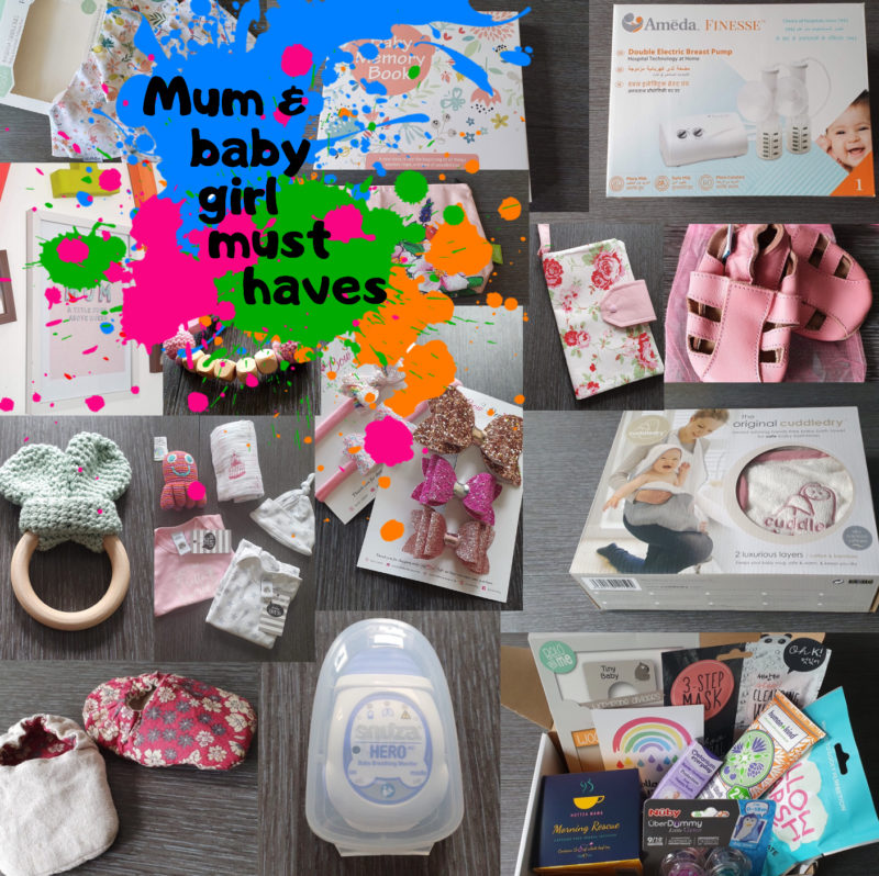 Mum and baby girl must haves raw childhood Blog post roundup