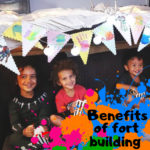 Benefits of fort building building for children raw childhood blog